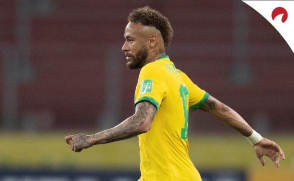 Neymar e Messi com odds fortes na Copa América.