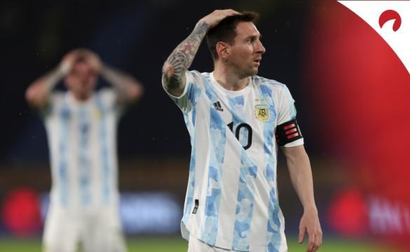 Argentina com bons odds na Copa América 2021.