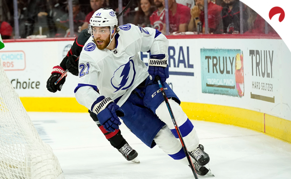 Brayden Point and the Lightning are favored over the Islanders in Game 1 of their semi-final matchup.