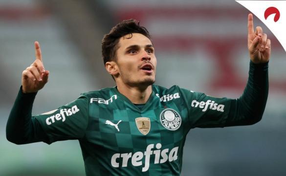Palmeiras forte no Brasileirão 2021.