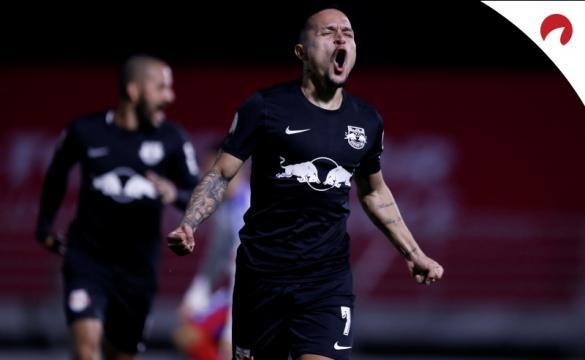Bragantino batalha no Brasileirão 2021.