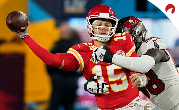 Patrick Mahomes and the Chiefs are early Super Bowl 56 betting favorites.
