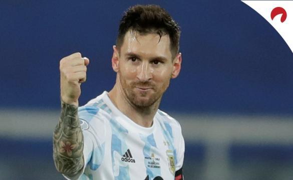 Messi está pronto para enfretar o Uruguai na Copa América 2021.
