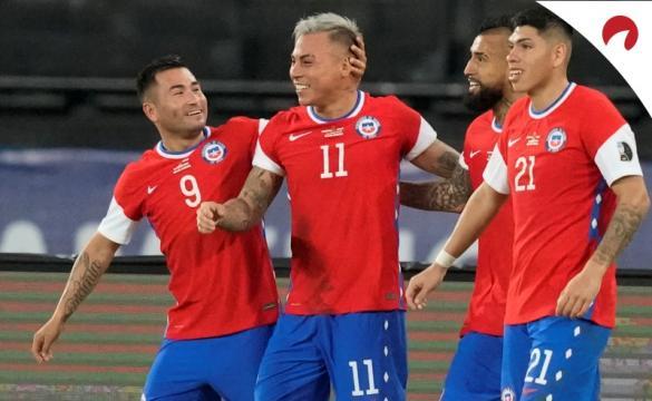 Chile com grandes chances contra Bolívia na Copa América 2021.