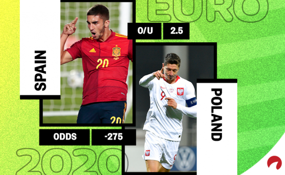 Poland and Spain in Euro 2020