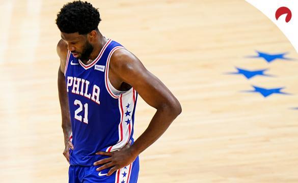 Joel Embiid's 76ers are favored in the Philadelphia vs Atlanta odds for June 20.