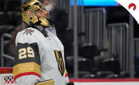 Marc-Andre Fleury's Knights are favored in the Vegas vs Montreal Odds for Game 4.