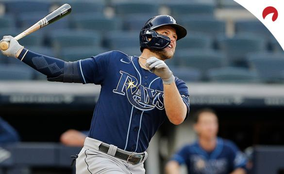 Austin Meadows and the Tampa Bay Rays are small moneyline favorites in MLB betting odds for their contest Tuesday nightvs the Boston Red Sox.