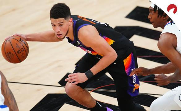 Devin Booker and the Phoenix Suns are favored in NBA betting odds to take a 2-0 lead in the Western Conference final vs the Los Angeles Clippers.