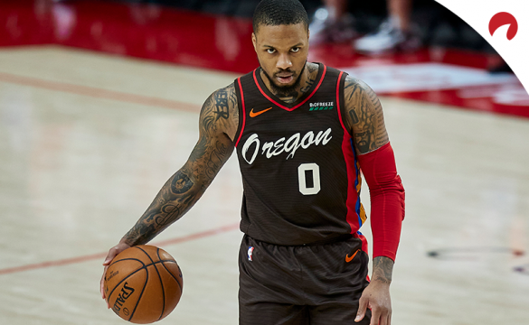 Check out Damian Lillard odds of potential trade destinations.