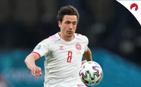Dinamarca é favorita contra Gales na Eurocopa 2021.
