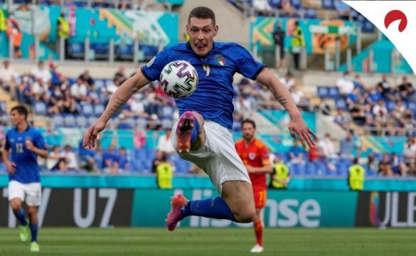 Itália se destaca na Euro 2020.