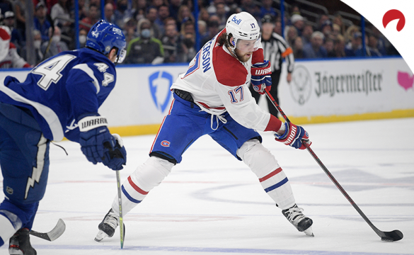 Can Josh Anderson and the Montreal Canadiens pick up a win in Game 3 of the Stanley Cup Final? Our Vegas expert makes his pick.