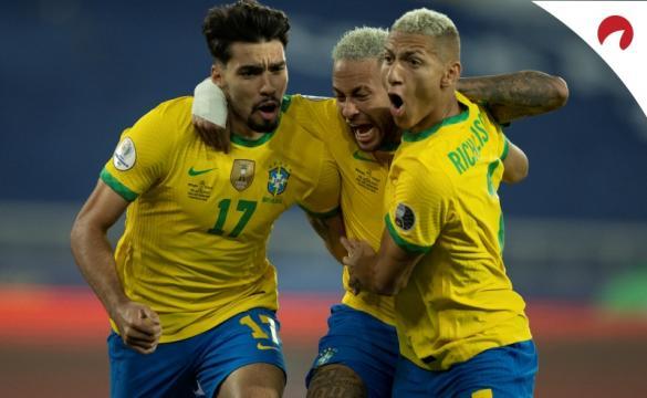 Brasil segue favorito com grandes vantagens.