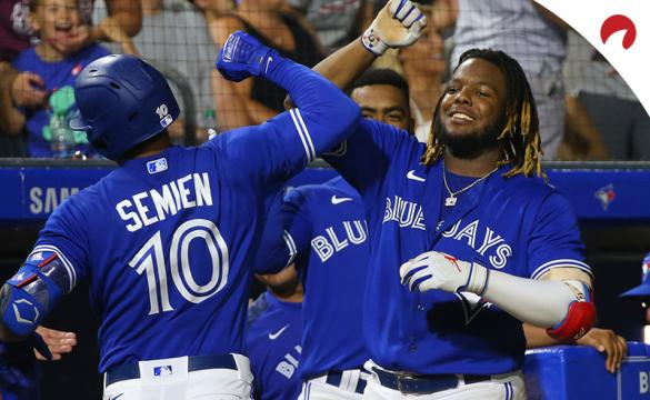 Vladimir Guerrero Jr.'s (right) American League All-Star team has won seven in a row in the MLB All-Star Game Betting History.