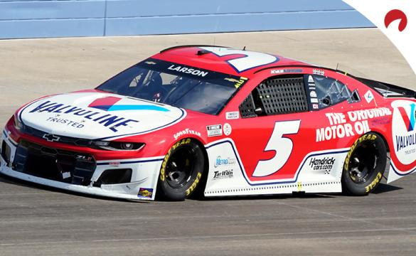 Kyle Larson is favored in the Quaker State 400 odds at Atlanta Motor Speedway.