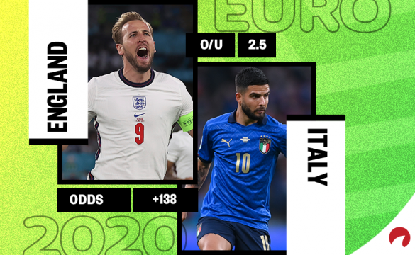 England take on Italy in the Euro 2020 final on Sunday.