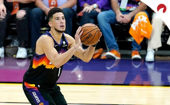 Devin Booker's Suns are among the Las Vegas Expert Picks this week.