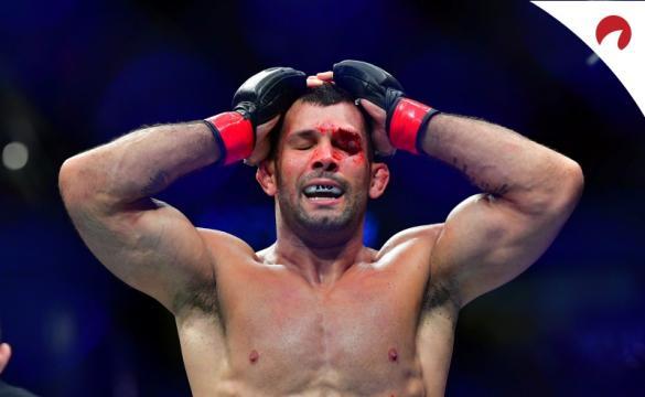 Rodolfo Vieira batalha no UFC.
