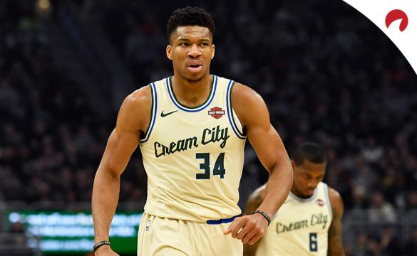Giannis Antetokounmpo's Bucks are favored in the NBA Finals odds.