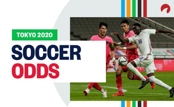 Olympic Men's and Women's soccer odds are out