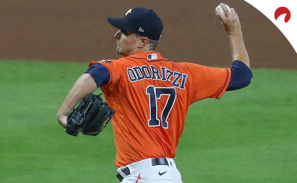 Jake Odorizzi and the Astros are among the Las Vegas Expert Picks this week.