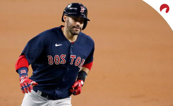 J.D. Martinez and the Boston Red Sox are favored in MLB betting odds against the New York Yankees on Friday night.