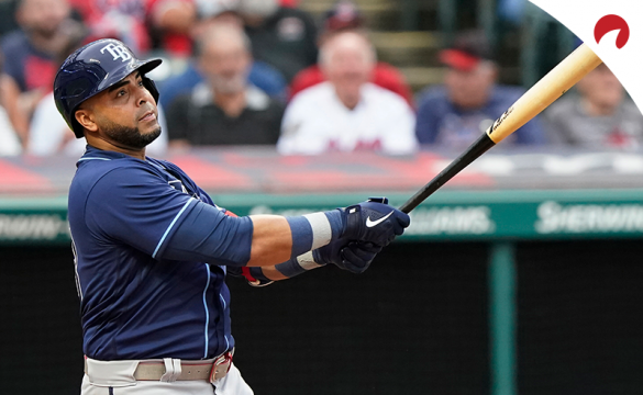 New addition Nelson Cruz and the Tampa Bay Rays take on the Cleveland Indians on Saturday night.