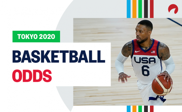 Damian Lillard and Team USA are favored in Olympic basketball odds for the Tokyo 2020 Olympics.