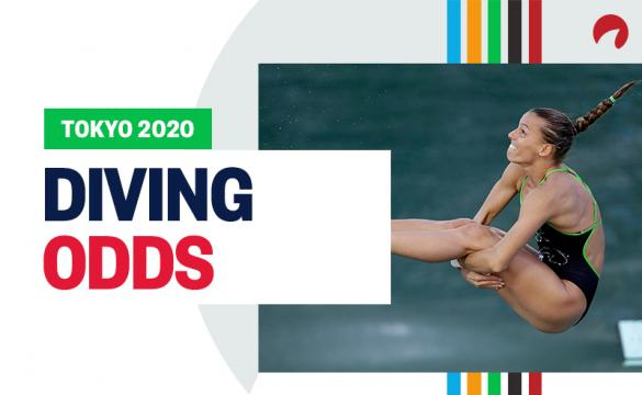 China's Shi Tingmao is among the favorites in the Olympics diving odds.