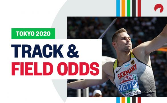 Johannes Vetter is one of the favorites for the Tokyo 2020 Olympics track and field odds.