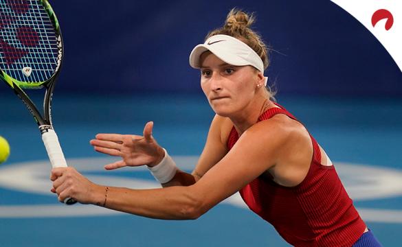 Las Vegas expert picks Marketa Vondrousova to win the gold in women's tennis at the Tokyo 2020 Olympics.