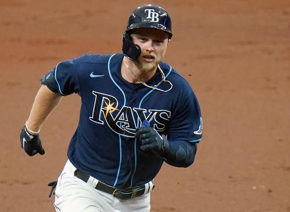 Austin Meadows's Rays are favored in the Boston vs Tampa Bay odds for Aug. 1.
