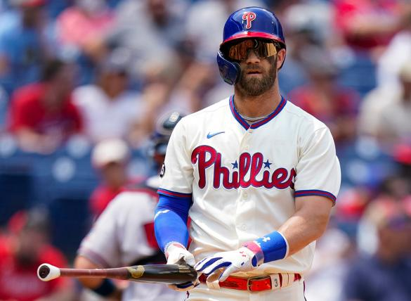 Bryce Harper's Phillies are favored in the Philadelphia vs Washington Odds for August 2.