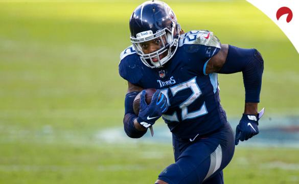 Derrick Henry is the clear 2021 NFL rushing yards odds leader.