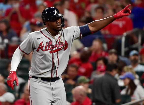 Jorge Soler and the Atlanta Braves are small road underdogs in MLB betting odds Thursday night vs the St. Louis Cardinals.