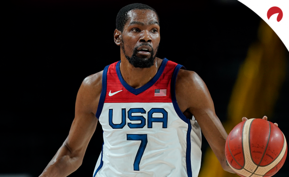 Kevin Durant and Team USA look to win the gold medal in men's basketball on Saturday in Tokyo.