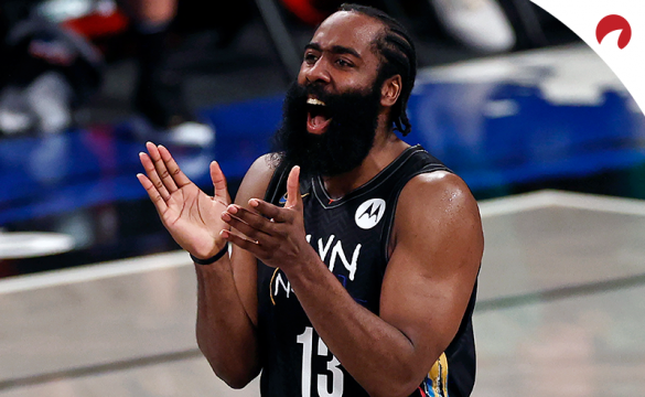 James Harden's Brooklyn Nets are favored in the latest 2021-22 NBA Championship odds.