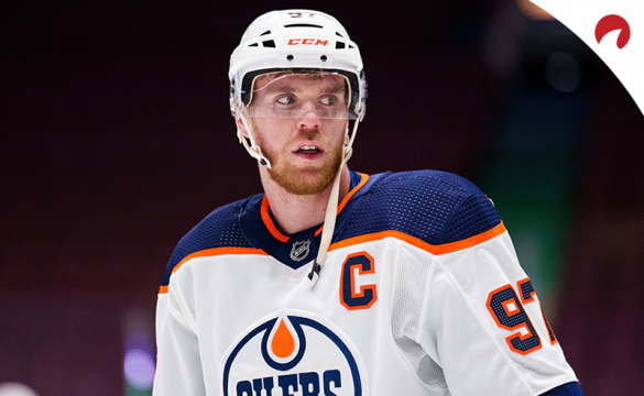 Connor McDavid leads the NHL Hart Trophy Odds.