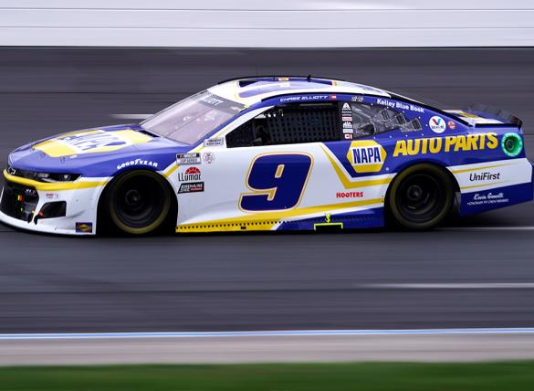 Chase Elliott is the favorite in the Verizon 200 at the Brickyard odds at Indianapolis Motor Speedway Road Course.