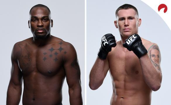 Darren Till (right) is favored in the Brunson (left) vs Till odds