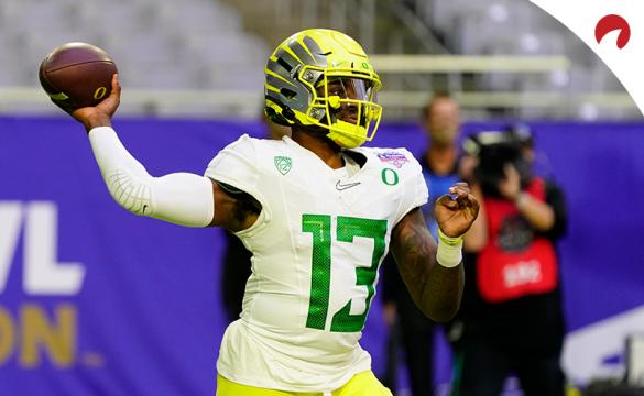 Quarterback Anthony Brown and the Oregon Ducks lead the charge in 2021 Pac-12 championship odds.