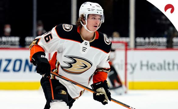 Ducks forward Trevor Zegras is the favorite in NHL Calder Trophy odds.