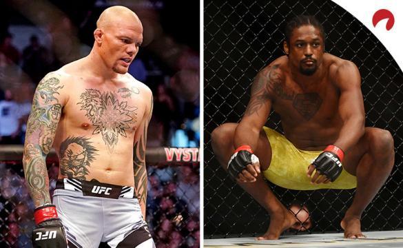 Anthony Smith (izquierda) es el favorito en las apuestas para el Smith vs Spann para el UFC Fight Night de esta semana.