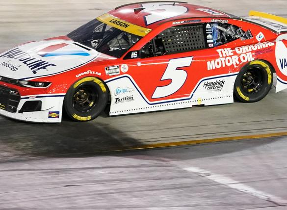 Kyle Larson is the favorite in the South Point 400 odds.