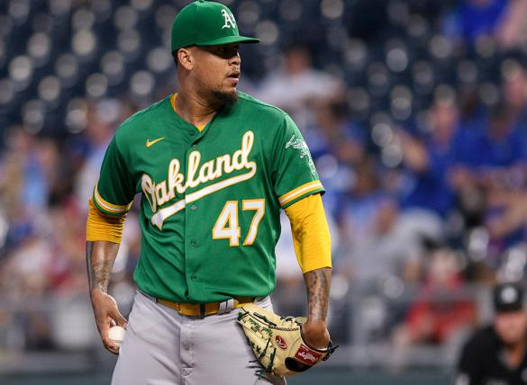 Frankie Montas & Oakland open up a big series against the Astros on September 24th, 2021.
