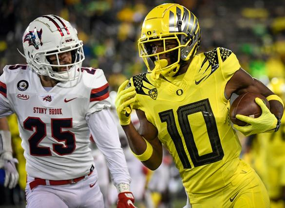 The Oregon Ducks take on the Stanford Cardinal in Week 5 NCAAF action.