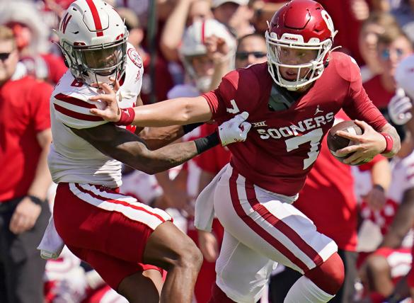 Spencer Rattler and the Oklahoma Sooners take on Kansas State on Saturday.
