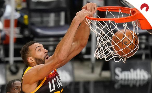 Rudy Gobert sits tied atop the NBA Defensive Player of The Year odds.
