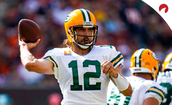 Aaron Rodgers' Packers are part of our NFL parlay this week